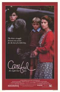 CUSTODY BATTLE Poster for 1983's 'Careful, He Might Hear You'.
