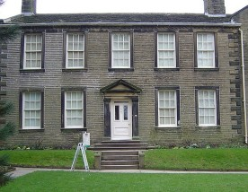 LITERARY HOTBED The Bronte Parsonage Museum, Haworth, Yorkshire.