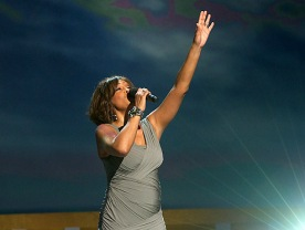 SWAN SONG Whitney Houston's triumphant live performance at the 2011 BET Celebration of Gospel.