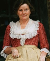FICTION MEETS FACT Brenda Blethyn as Jane Austen's Mrs Bennet in Joe Wright's 2005 movie Pride and Prejudice.