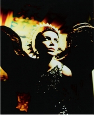 ANGELIC ANNIE Lennox in full angel regalia for the music video Precious (Photo by ...)
