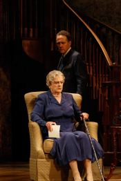 MISS MAIDY'S DESTINATION Lansbury onstage in the Australian tour of Driving Miss Daisy.