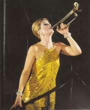 HER OWN TRUMPET Lansbury in the Boradway hit of 1966 - Mame.