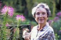 A GARDENER'S PLACE Award winning plantswoman Beth Chatto (Photo: Alamy).
