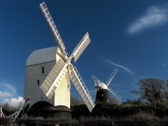 WINDY HILL Jack and Jill Mills in Sussex (Photo: David Blaikie).