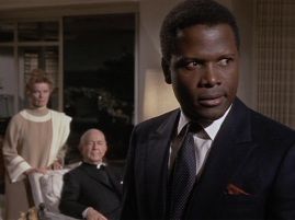 PROTAGONIST REVEALED Sydney Poitier as Dr John Prentice, the real protagonist of the movie.
