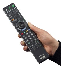 WRITERS' ENEMY The remote control.