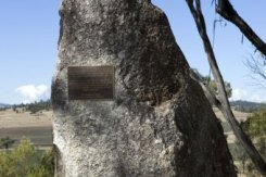 MASSACRE SITE: The Myall Creek Massacre Memorial (Photo: Department of Environment: Mark Mohell).