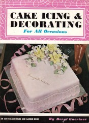 ICING QUEEN One of Beryl's many books on cake decorating.