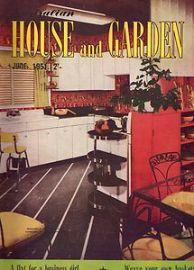 AUSTRALIAN STYLE Early cover of Australian House & Garden magazine.