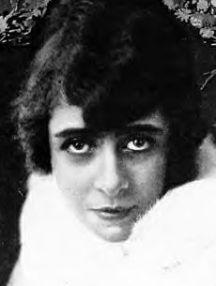 SENTIMENTAL FAVOURITE Silent screen star Lottie Lyall (1890-1925).
