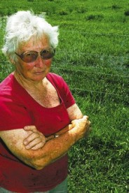 SHE-OAK Hawkesbury cattle farmer Margaret Betts (Photo