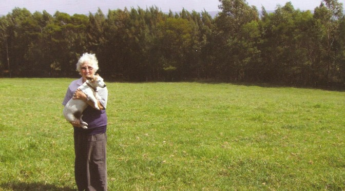 Margaret Betts – tree planter