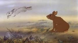 HAZEL'S JOURNEY from Watership Down (1978).