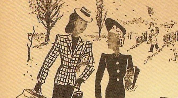 Dymphna Cusack & Florence James – literary chicks