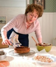 FOOD FOR THOUGHT Meryl Streep as food writer Julia Child in Julie & Julia.
