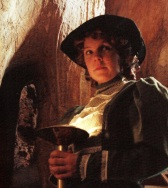 CAVE DISCOVERER Catherine 'Katie' Webb, the woman who discovered Jenolan's Chifley Cave in the 1880s.