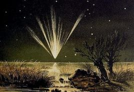 COMET COMING The Great Comet of 1861, on Tebbutt's radar in Windsor.