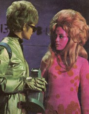 SPACE PHENOMENON Patsy Trench (left) as Cadet Tina Culbrick in Phoenix Five.
