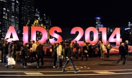 SHINING A LIGHT On HIV/AIDS in Melbourne.