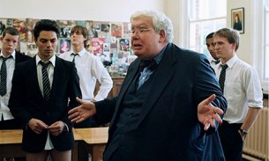 MAKING HISTORY Richard Griffiths headed the cast of Alan Bennett's 'The History Boys'.