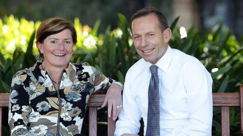 SIBLING RIVALRY Christine Forster and her brother, Australia's Prime Minister Tony Abbott.