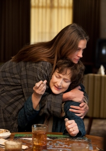 BROKEN HEARTS Julia Roberts and Meryl Streep.