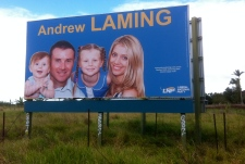 HE WINS WE LOSE Andrew Laming and family.