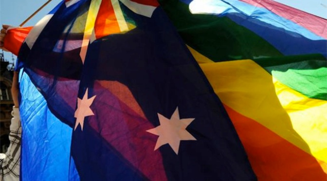Australia is so gay about marriage equality