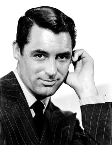 CARY ON Archie Leach, aka Cary Grant (1904-1986).