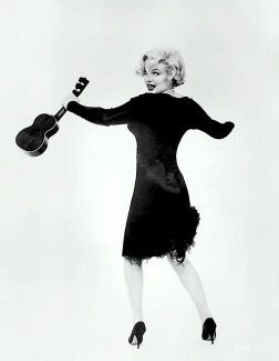 LITTLE BLACK NUMBER Designed by Kiama's forgotten son Orry-Kelly for Marilyn Monroe.