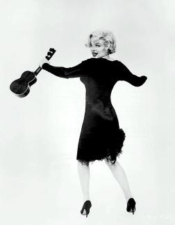 LITTLE BLACK NUMBER Designed by Kiama's forgotten son Orry-Kelly for Marilyn Monroe.
