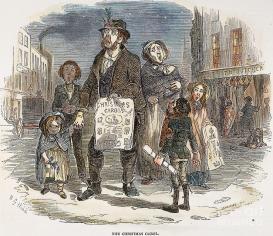 GIVE A LITTLE Christmas carols come from a long tradition of protest.