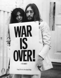 PROTEST SONG John and Yoko's 1971 effort.