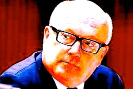 ARTY FARTY Minister for the Arts George Brandis.