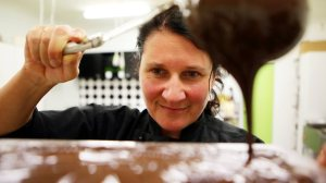 SMOOTH SCIENCE Jodie is effusive about the work that goes into creating flavour.