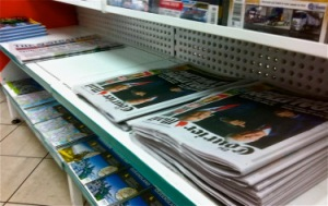 WHERE'S FAIRFAX? 6.45am at the service station near my day job, no copies of SMH or The Financial Review available.