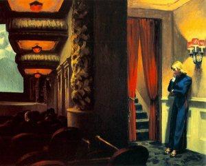 The misunderstood usher in Edward Hopper's 'New York Movie'.