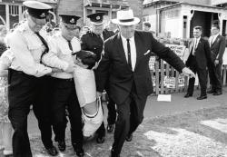 OBJECTION OVERRULED William White's arrest in Sydney, 1966.