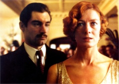 HAPPY HOLIDAY Timothy Dalton as Archie Christie and Vanessa Redgrave as Agatha Christie in Agatha, a film adaptation of the mystery released in 1979.