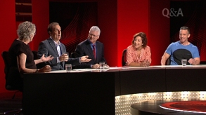 PROFESSIONAL PANEL Panellists on ABC's QandA.