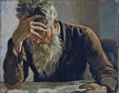 HARD READ The Reader by Ferdinand Hodler (Museo Thyssen-Bornemisza, Madrid)