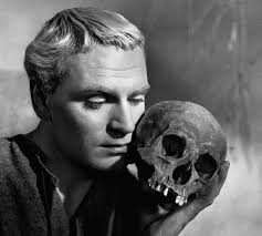 ALAS, POOR HAMLET Often used as an excuse for missing plots. Laurence Olivier as the Prince of Denmark in the 1948 film.