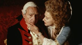 ROYAL MALADY Nigel Hawthorne and Helen Mirren in The Madness of King George. (Photo: Keith Hamshere)